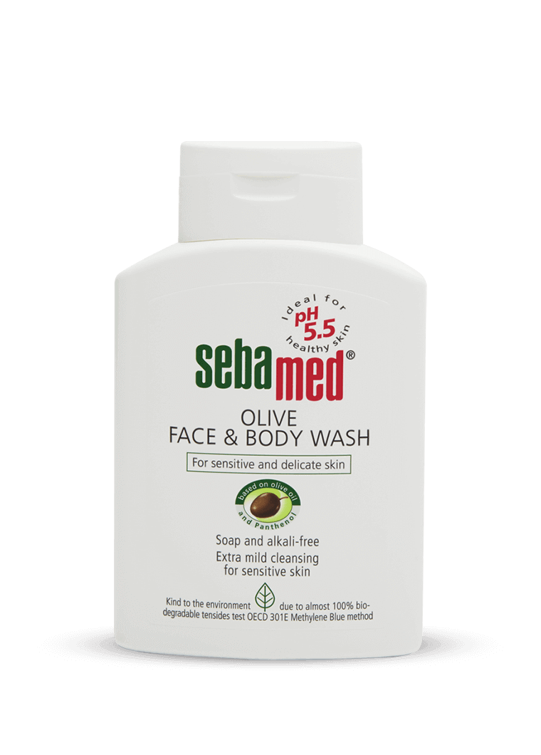 Olive Face and Body wash